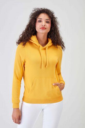 NÜWA Basic Gold Sustainable Hoodie Women