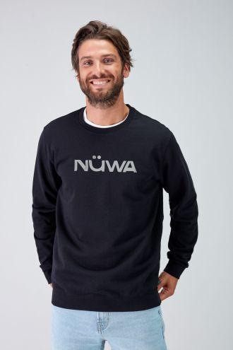 IMPACT - Recycled Regular Sweatshirt in Black