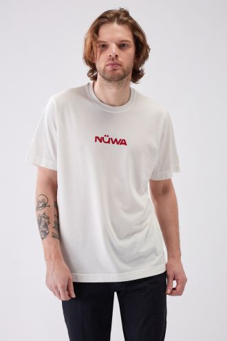 IMPACT - Recycled Regular T-shirt in Off White