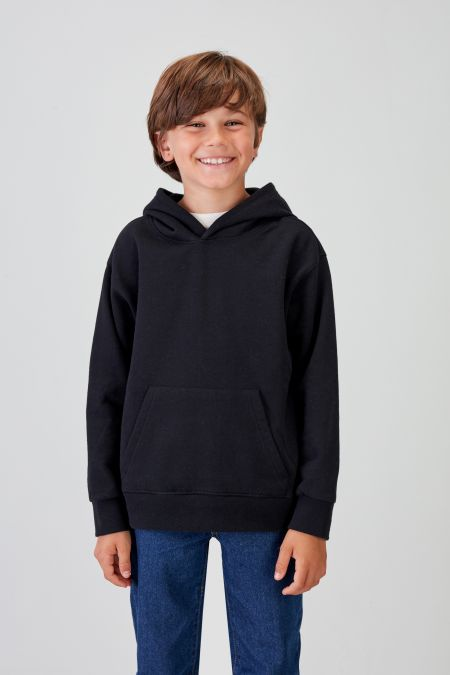 NÜWA Basic  - Recycled Hoodie in Black