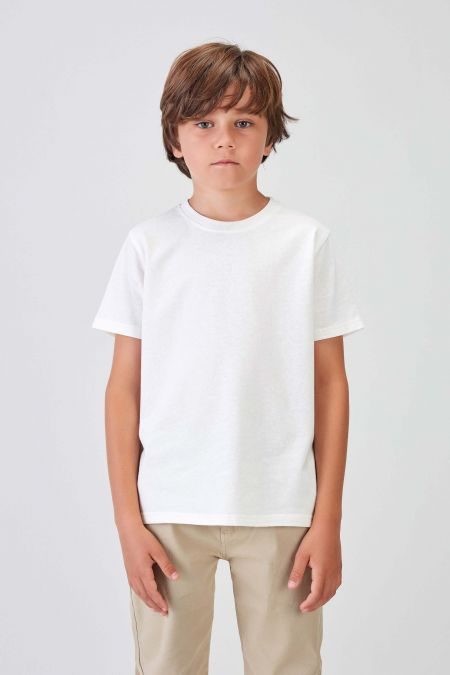 NÜWA Basic  - Recycled T-shirt in Off White