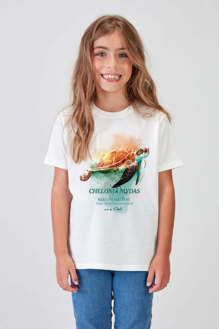 #NM TURTLE - Recycled T-shirt Kids