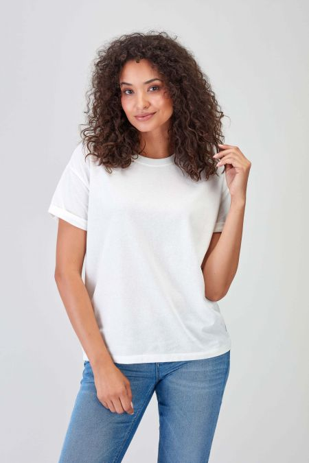 BASIC - Recycled Oversize T-shirt Women