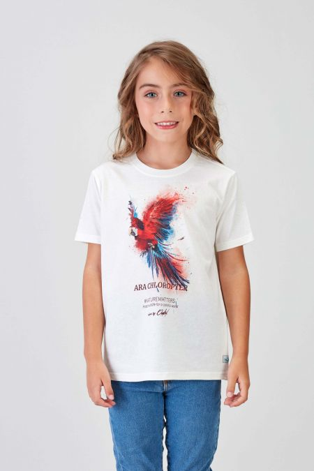 #NM MACAW - Recycled T-shirt Kids
