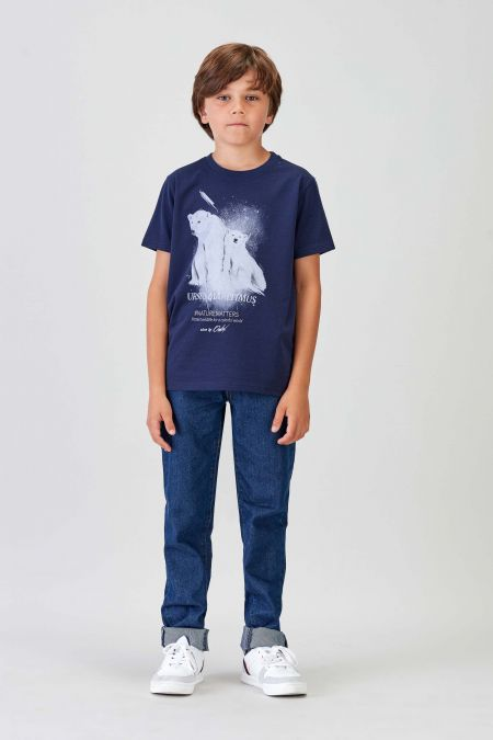 #NM POLAR BEAR - Recycled T-shirt Kids