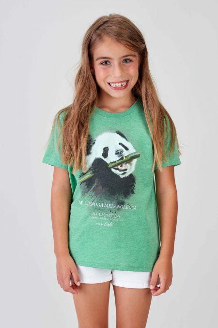 #NM PANDA - Recycled T-shirt in Green