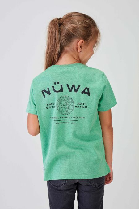 REPURPOSE - Recycled Graphic T-shirt in Green