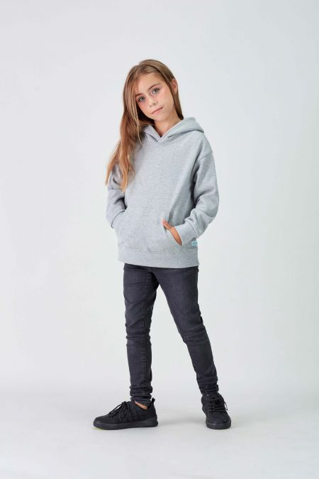 NÜWA Basic - Recycled Hoodie in Grey