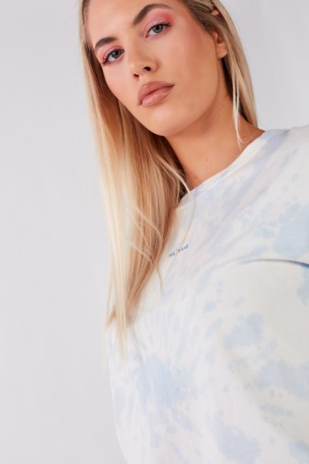 Add Color To Your Life - Organic Cotton Sky Tie Dye T-shirt