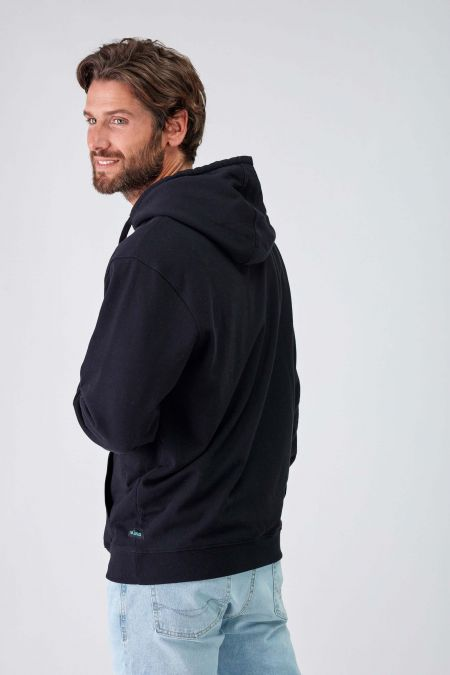 Reflector Logo Sustainable Hoodie Men