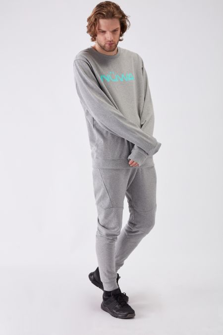 IMPACT - Recycled Regular Sweatshirt in Grey