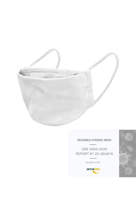 Washable Social Mask - White
