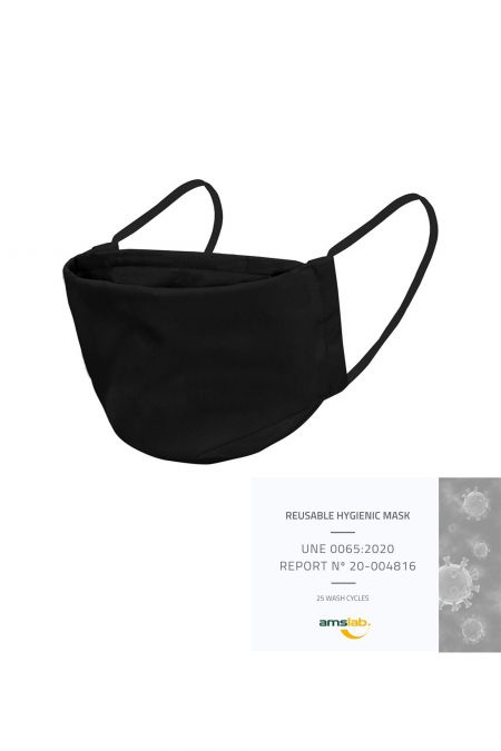 Washable Social Mask - Black