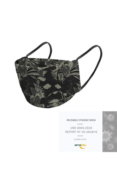 Washable Social Mask - Tropical