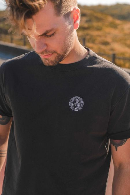 Oversize Premium Tee - Organic Cotton T-Shirt in Black