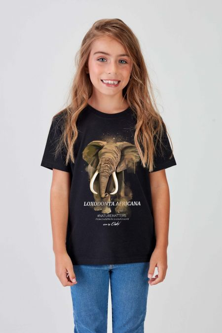 #NM ELEPHANT - Recycled T-shirt Kids