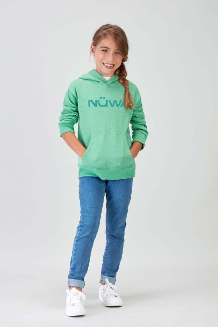 IMPACT - Recycled Hoodie in Green