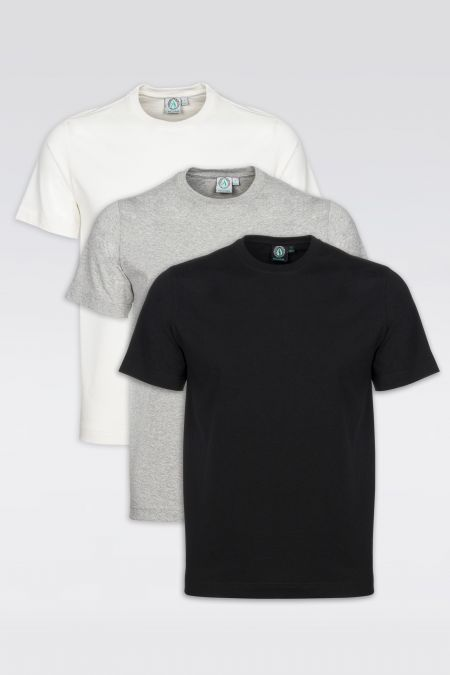 Must-Have Recycled T-Shirt 3Pack