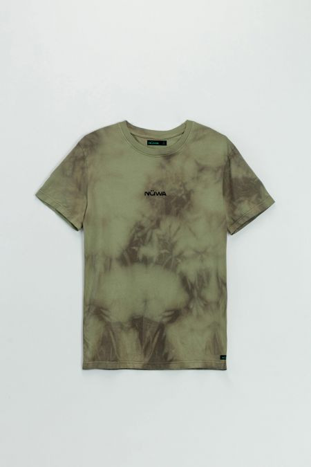Add Color To Your Life - Organic Cotton Camo Tie Dye T-shirt