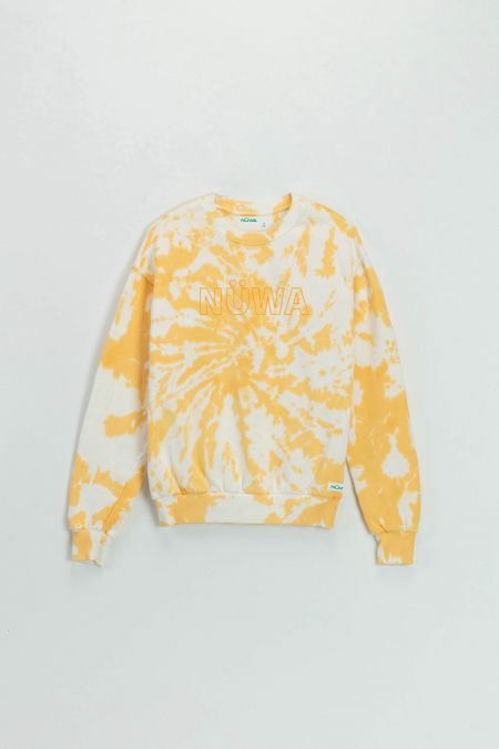 Add Color To Your Life - Organic Cotton Sun Tie Dye Sweatshirt