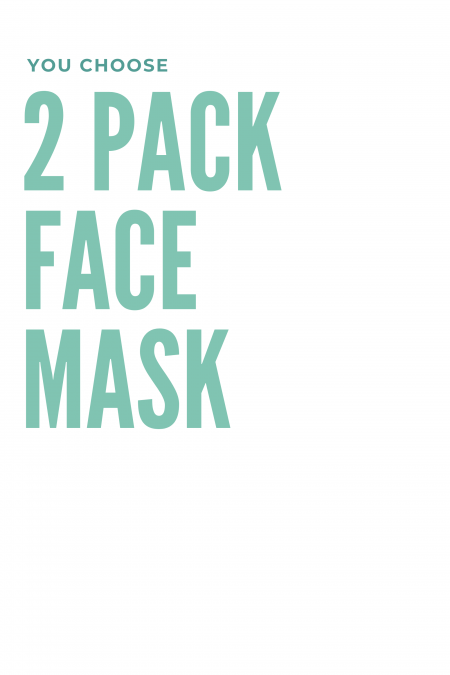 Face Mask - 2Pack