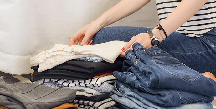 tips to help you declutter your closet