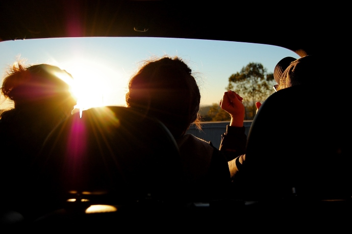 Black Friday Carpool