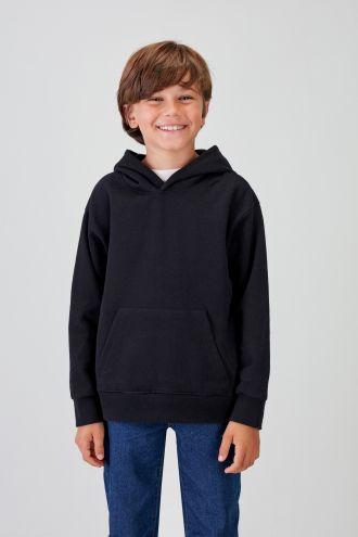 NÜWA Basic  - Recycled Hoodie in Black