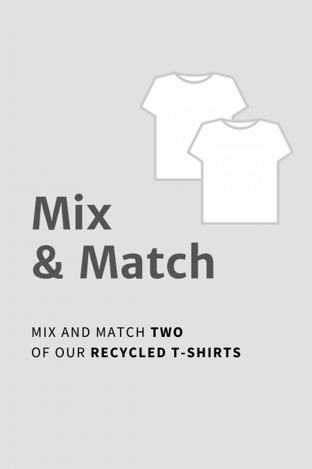MIX & MATCH - Recycled T-Shirt 2 Pack