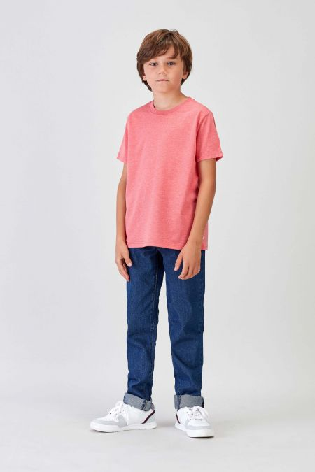 NÜWA Basic - Recycled T-shirt in Coral
