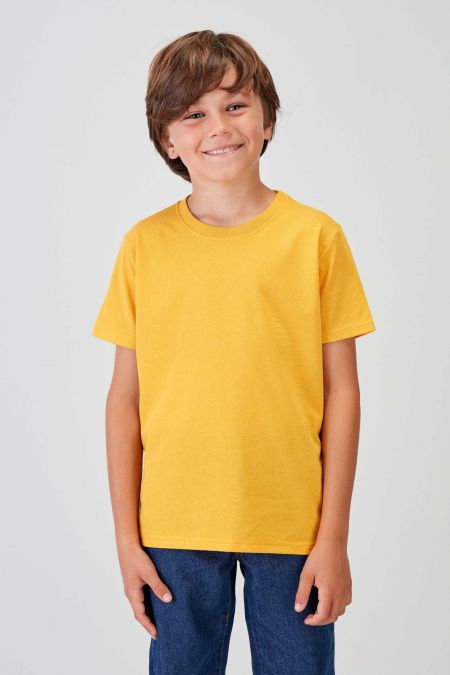 NÜWA Basic  - Recycled T-shirt in Gold
