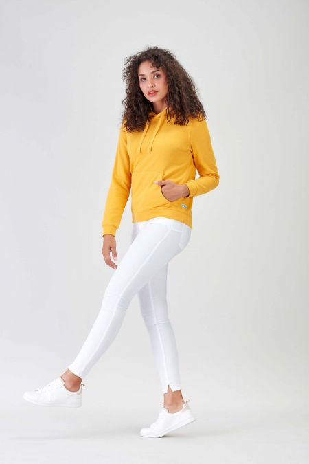 NÜWA Basic Gold Sustainable Hoodie Women