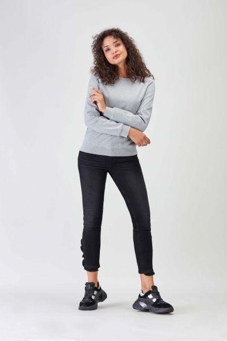 NÜWA Basic Grey Sustainable Sweat Women