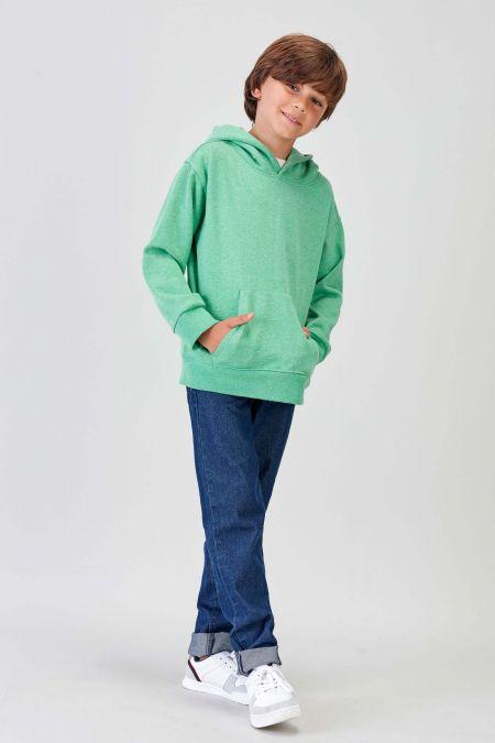 NÜWA Basic - Recycled Hoodie in Green