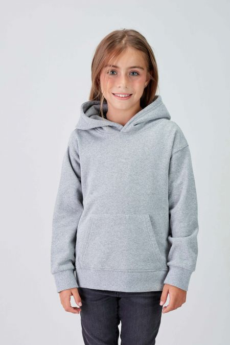 NÜWA Basic - Recycled Hoodie in Grey