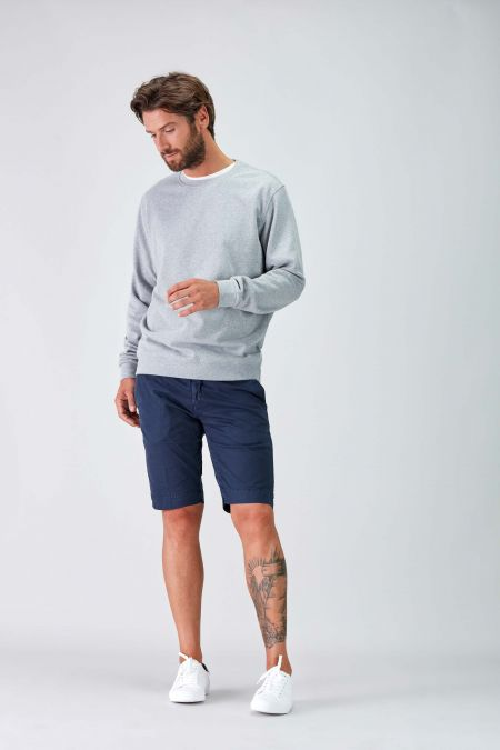 NÜWA Basic Grey Sustainable Sweat Men