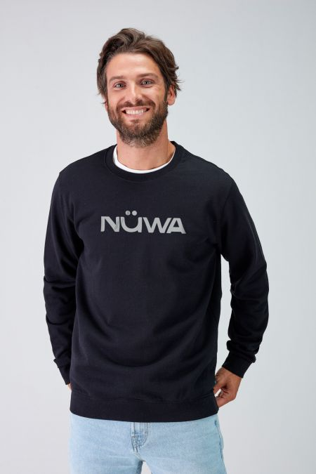 IMPACT - Recycled Regular Sweatshirt in Black