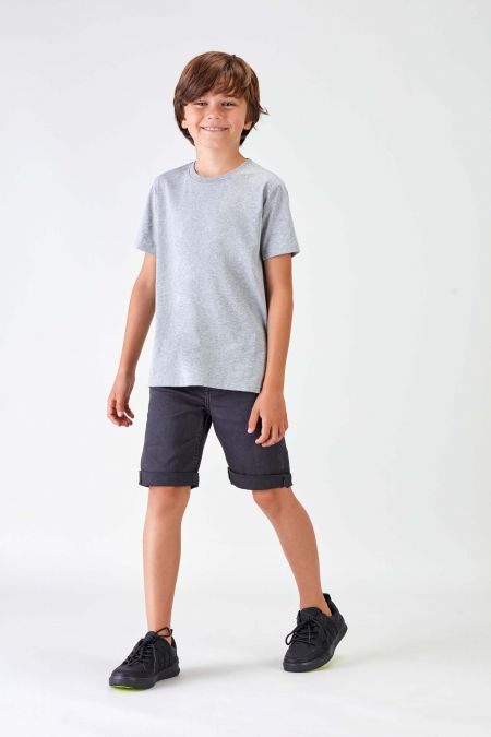 NÜWA Basic - Recycled T-shirt in Grey